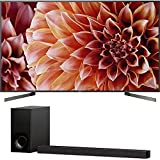 Sony Bravia XBR85X900F 85' 4K HDR HLG Triluminos Android LCD TV with Google Assistant 3840x2160 & Sony HTZ9F 3.1Ch Dolby Atmos Soundbar with Built-in WiFi & Bluetooth