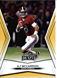 2014 Leaf Draft Edition Football A.J. McCarron Alabama Cincinnati Bengals Rookie Card #DE-8