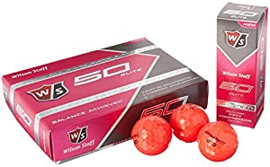 Wilson Staff Fifty Elite Golf Balls, Pack of 12