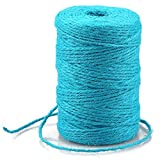Blue Jute Twine,328 Feet Colourful Jute