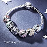FOREVER QUEEN December Birthstone Charms for