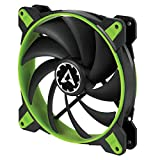 Arctic BioniX F140-140 mm Gaming Case Fan with PWM PST Cooling Fan with PST-Port Regulates RPM, Green