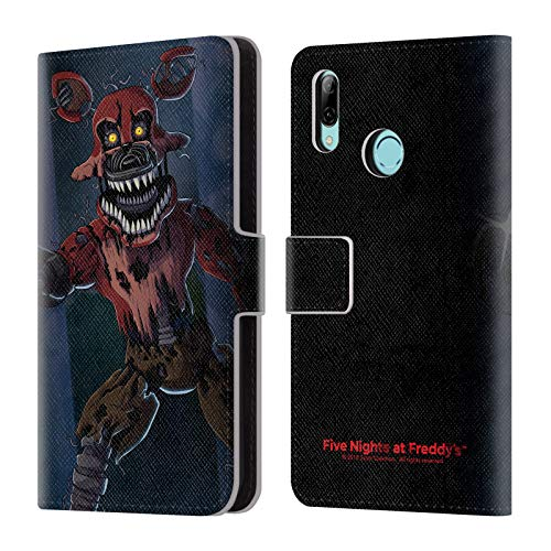 - Official Five Nights at Freddy's Phantom Foxy Game 3 Leather Book Wallet Case Cover Compatible for Huawei P Smart (2019)