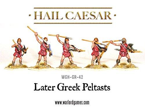 Hail Caesar, Later Greek Peltasts , 28mm Warlord Games Miniatures from hail caesar