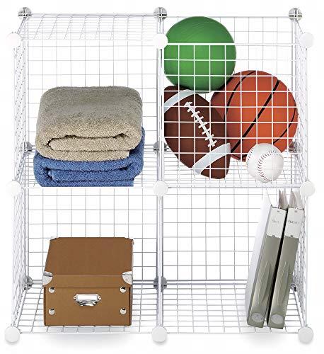 Whitmor 6071-1723 estantería - estanterías (De plástico, Acero, Color blanco, Dormitorio, Habitación de los niños,...