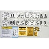 Farmall Super A Decal Kit