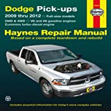 Dodge Pick-Ups, Haynes Manuals Editors, 1620920077