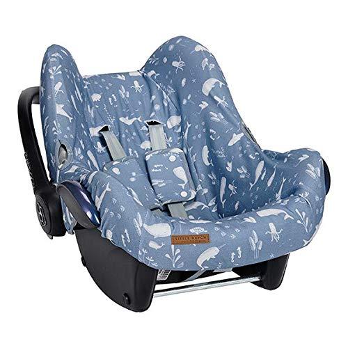 Little Dutch TE40420640 Bezug f/ür Babyschale Ocean blau
