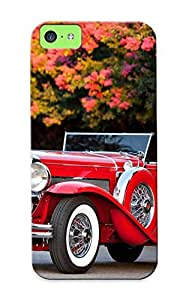 Graceyou Case Cover For Iphone 5c - Retailer Packaging 1932 Duesenberg Modelj 2842310 Convertible Coupe Swb Murphy Protective Case