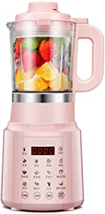 Vacuum Blender, Professional Countertop Blender Ice Crusher, 48000RMP High Speed Kitchen Smoothie Maker with Timer,pink