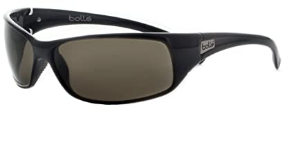 e50aab822b Amazon.com  Bolle Recoil Sport Sunglasses 10405 Shiny Black ...