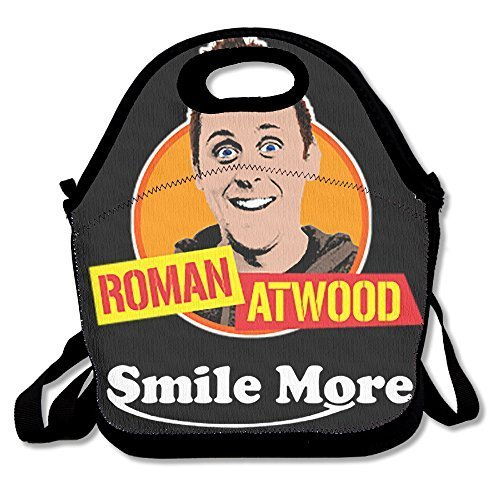 Willcallyou Lunch Tote Bag-- Roman Atwood Smile More