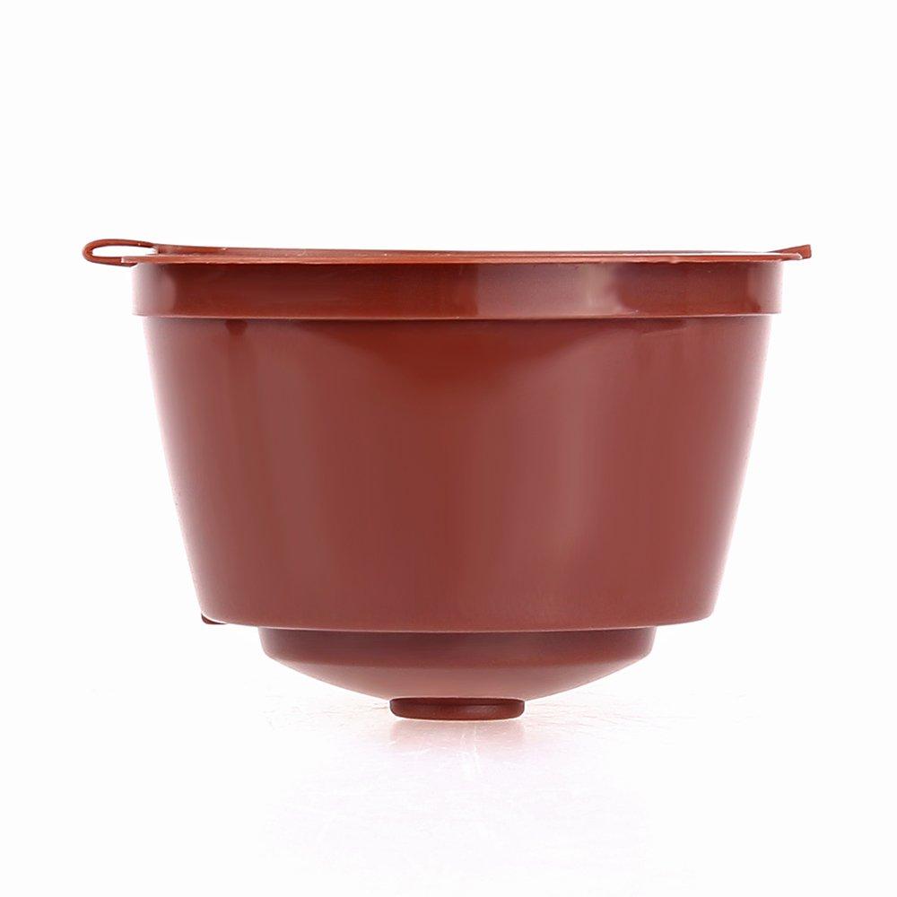 TiooDre - Cápsula de café Recargable Reutilizable con cápsulas ...