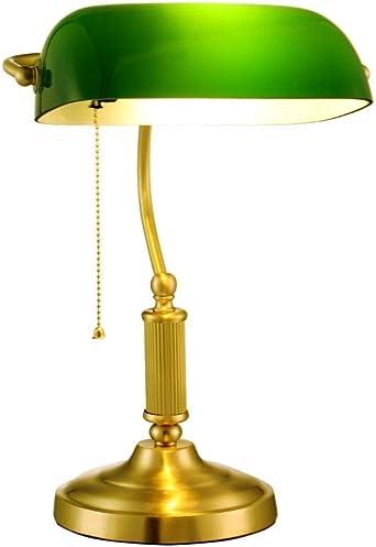 Lfixhssf Retro lámpara de mesa de los hogares, conmutador de extracción de materiales de metal, Reading Desk luz de la noche Lfixhssf: Amazon.es: Iluminación