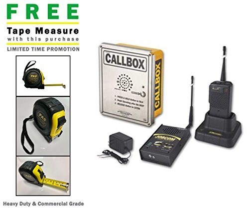 Ritron RGG1-156-XT-KP VHF License Free GateGuard Package & Includes A Free Heavy Duty FAS Tape Measure (Part# ()