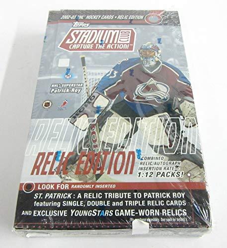 2002/03 Topps Stadium Club Hockey Relic Edition Box (Hobby) ()