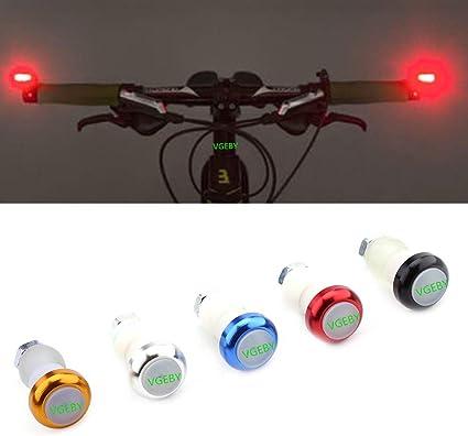 Clean look avec pleinement capables Clignotant Fonction Guidon de vélo Lumières