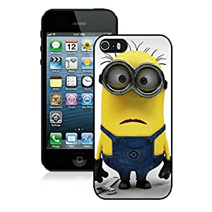 Personalized Design iPhone 5S Despicable Me Repairman 37 Cell Phone Cover Case for Iphone 5s Generation Black