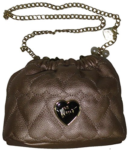 """Betsey Johnson Women's/Girl's """"Be Mine"""" Small Rouched Xbo..."""