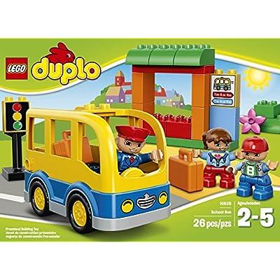 LEGO DUPLO Town School Bus 10528 Building Toy: Toys & Games