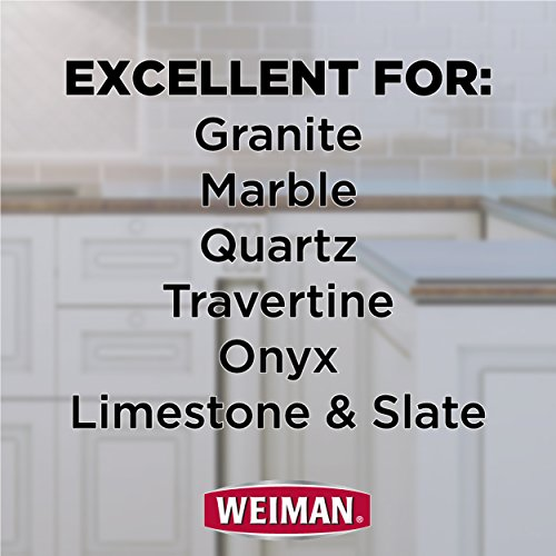 Weiman Granite Cleaner and Polish - 8 Ounce 6 Pack - For Granite Marble Soapstone Quartz Quartzite Slate Limestone Corian Laminate Tile Countertop and More by Weiman (Image #5)