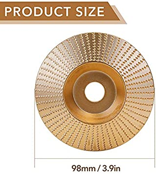 yeehao Tungsten Carbide Grinding Wheel 4 Woodworking Wood Angle Grinding Wheel