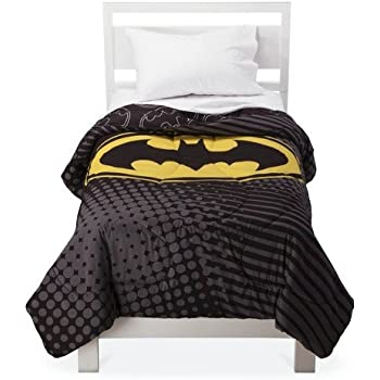 Amazoncom DC Comics Batman Twin Comforter Dark Knight - Batman dark knight bedding
