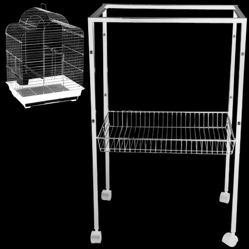 ES7 Metal Stand for All ES2016 Cages 20 1/2'' W x 16 1/8'' D x 31 1/8'' H Bird Cages Toy Toys Parakeet Parrot Parakeet Budgie by King's Cages