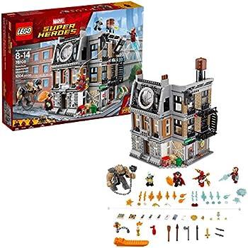 LEGO Marvel Super Heroes Avengers: Infinity War Sanctum Sanctorum Showdown 76108 Building Kit (1004 Pieces)