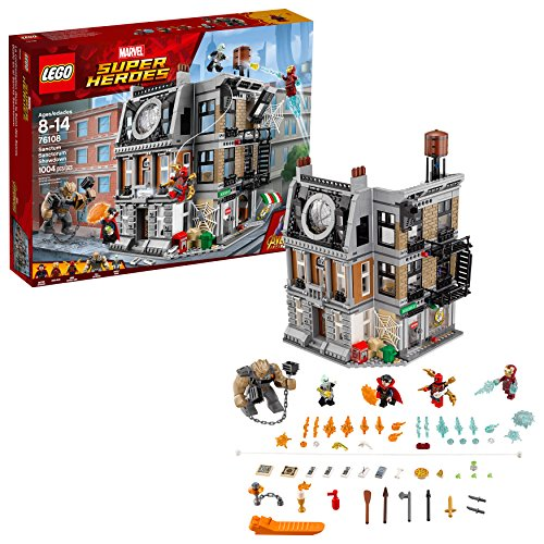 LEGO Marvel Super Heroes Avengers: Infinity War Sanctum Sanctorum Showdown 76108 Building Kit (1004 - 9 Set Piece Figure