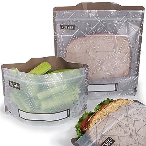 Amazon.com: russbe 18726 bolsas reutilizables Aperitivo y ...