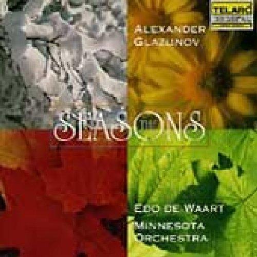 CD : Edo de Waart - Seasons / Scenes De Ballet (CD)
