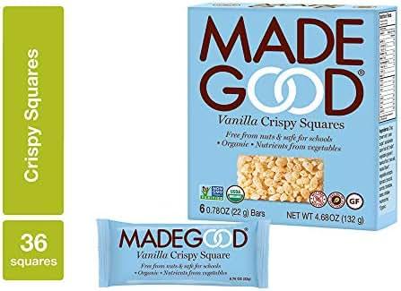 Granola & Protein Bars: Made Good Crispy Squares