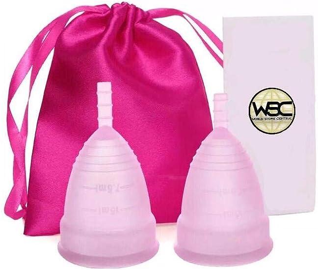 WSC Copa Menstrual - Bienestar - Clínicamente probada - Talla ...