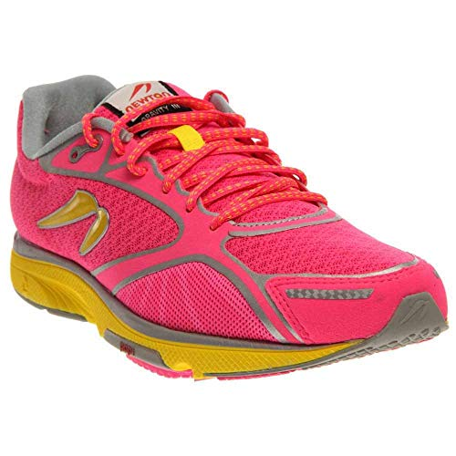 Newton Running Women's Gravity III Pink/Silver/Yellow Running Shoe 11 Women US - Newton Running Shoes