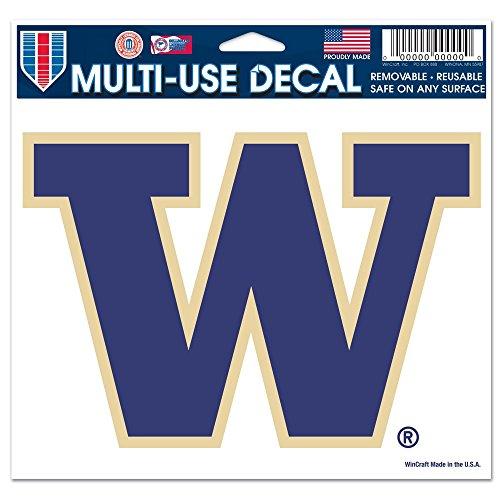 NCAA University of Washington Multi-Use Colored Decal, 5