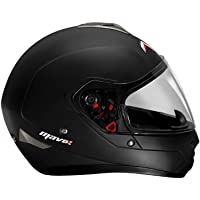 MAVOX FX21 570 Full Face Helmet (Matt Black, 570 mm)