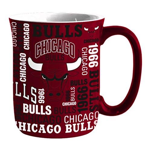 (NBA Chicago Bulls Sculpted Spirit Mug, 17-ounce )