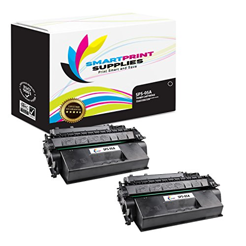 Print 2300 Smart (Smart Print Supplies Compatible 05A CE505A Black Toner Cartridge Replacement for HP Laserjet P2030 2050 Series Printers (2,300 Pages) - 2 Pack)