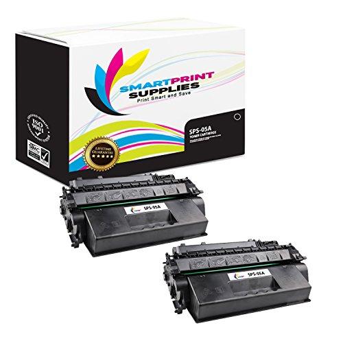 Print Smart 2300 (Smart Print Supplies 05A CE505A 2 Pack Black Compatible Toner Cartridge Replacement for HP Laserjet P2030 P2050 Series Laser Printers (2,300 Pages))