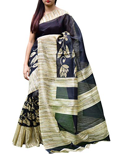 GiftPiper Cotton Silk Printed Saree