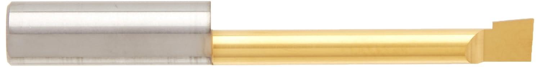Micro 100 0.230 Minimum Bore Diameter 2-1//2 Overall Length 0.058 Projection TiN Coated 5//16 Shank Diameter Right Hand Boring Tool Solid Carbide Tool BB-2301500SG No Cutting Radius 1.500 Maximum Bore Depth
