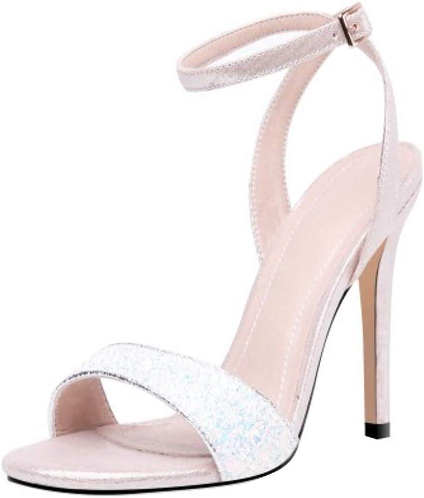 Lydee Mujer Elegant Stiletto Sandalias Correa