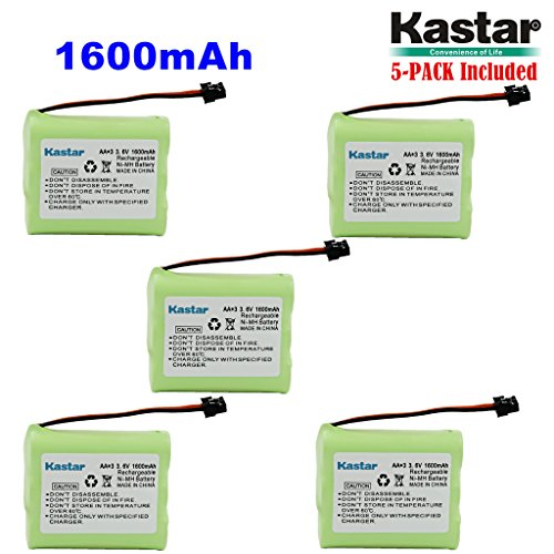 Used, Kastar 5-PACK AA3 3.6V 1600mAh MSM Ni-MH Rechargeable for sale  Delivered anywhere in USA