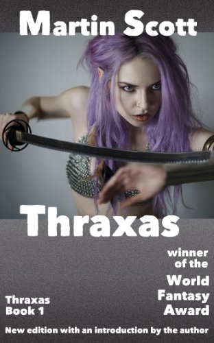 book cover of Thraxas