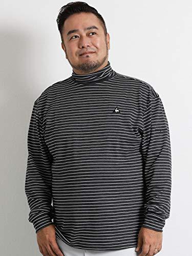 グッゲンハイム美術館手がかり祭り【大きいサイズ?メンズ】ルコックゴルフ le coq sportif GOLF (ルコックスポルティフ ゴルフ)ボーダータートル長袖Tシャツ