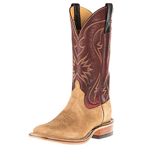 Anderson Bean Womens Ride Ready Beeswax Mesquite Reverse Roughout Cowgirl Boots 11 B ()