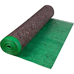 The ROBERTS Super Felt premium underlayment is a 3 mm thick insulating underlayment made to reduce noise and help cushion flooring. By absorbing noise instead of deflecting it, Super Felt reduces sound transmission. This felt underlayment is ...