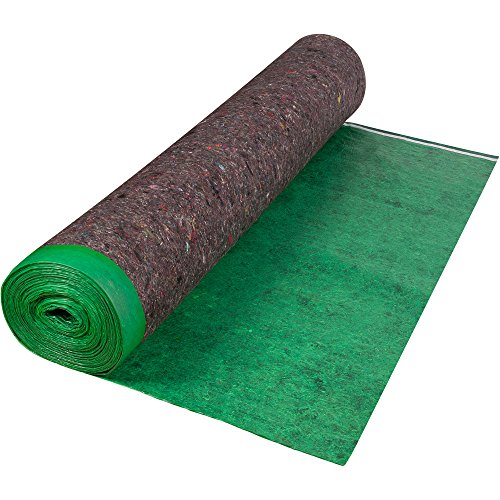 (Roberts 70-193A Super 360 sq 60 in. x 72 ft. x 3 mm Felt Cushion Roll for Engineered Wood and Laminate Flooring Underlayment )