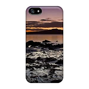 New BReJYkA539ZFnsJ Beautiful Sunset Skin Case Cover Shatterproof Case For Iphone 5/5s
